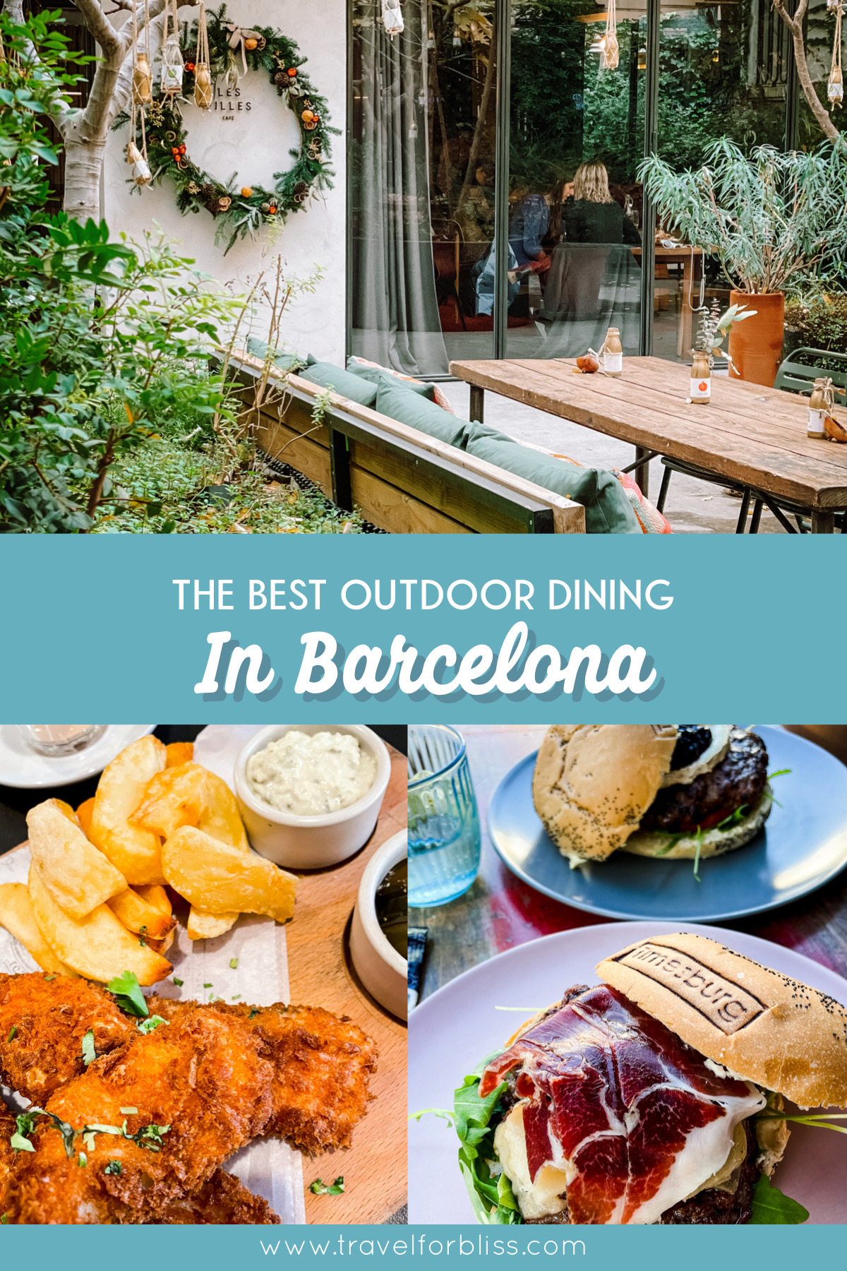 Discover the some of the best restaurants in Barcelona. All these restaurants have great outdoor dining providing a safe place to dine in Barcelona