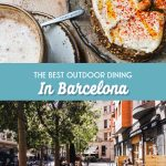 The best outdoor dining in Barcelona. Enjoy a delicious meal in the sunshine and fresh air.