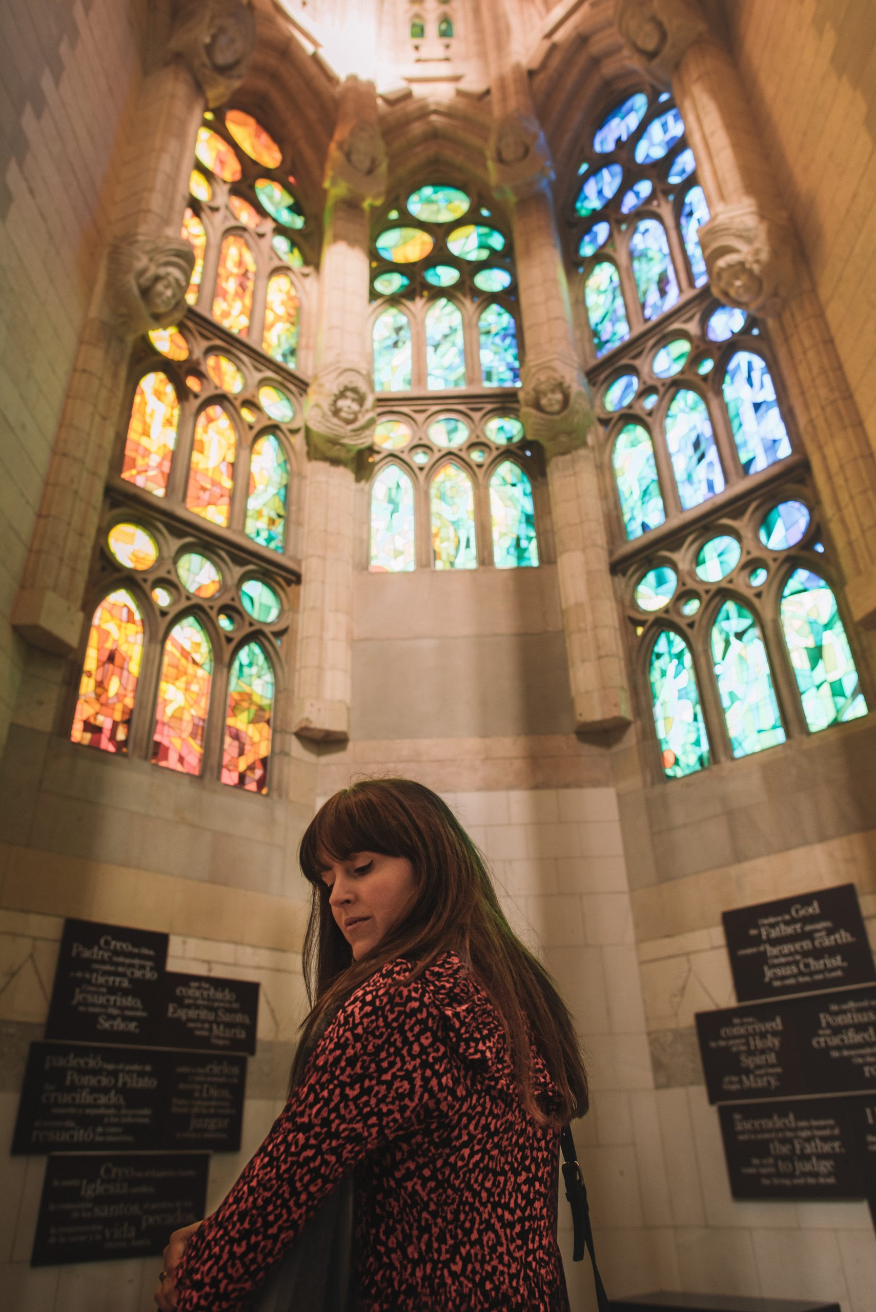 Sagrada Familia provides free entry to the mass every Sunday if you wish to attend.
