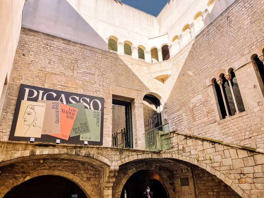 You can get free entry to the Picasso Museum in Barcelona every Thursday and Sunday