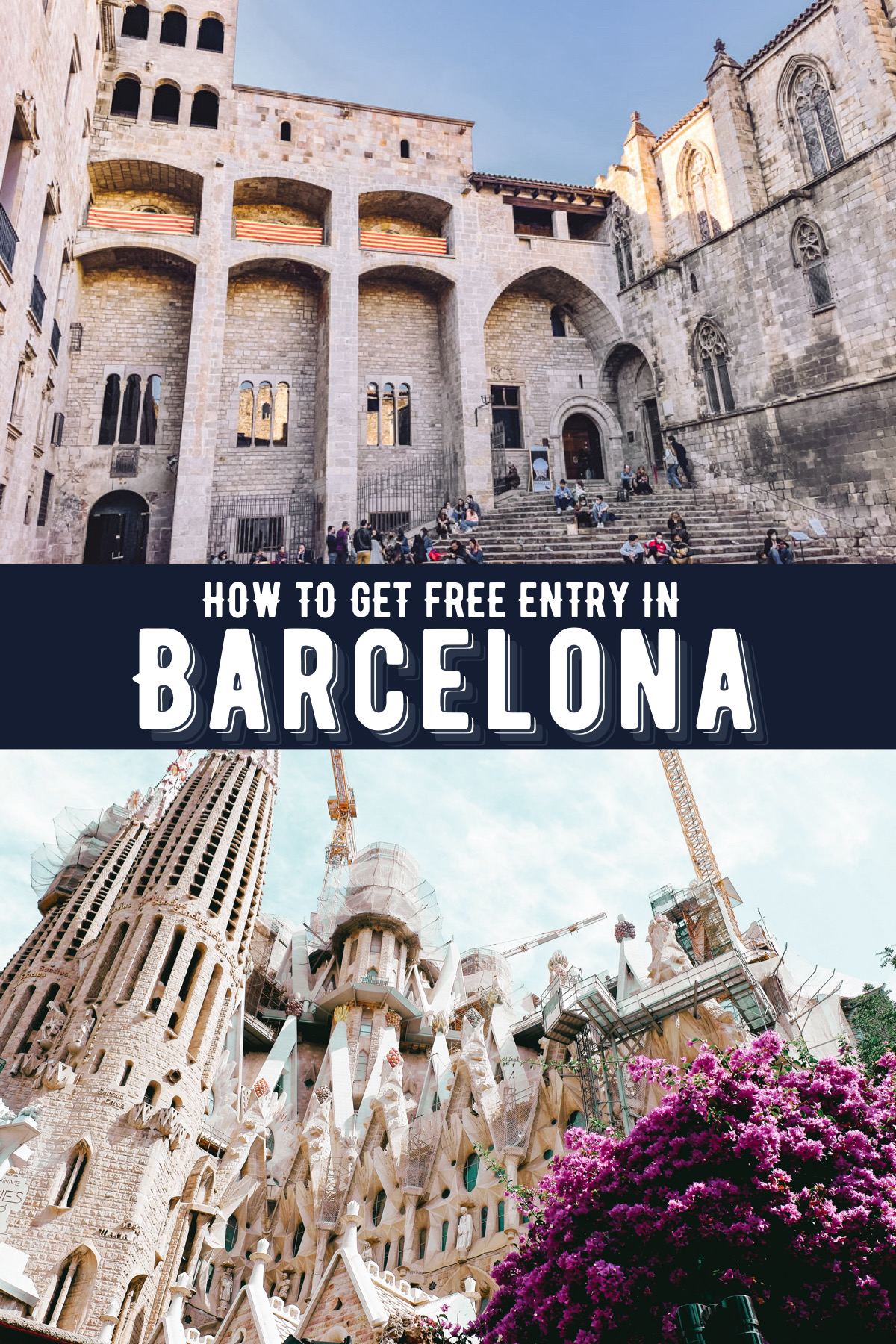 Here is a list of free things to do on a Sunday in Barcelona. Make sure you check out these great cheats to get free entry in Barcelona