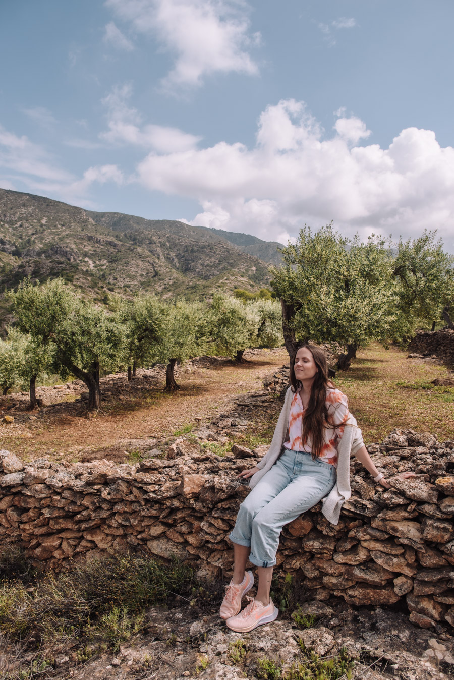 Staying on an olive farm in Spain