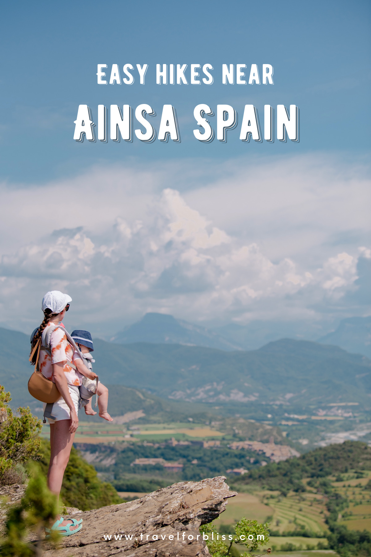 Discover easy hikes near Ainsa Spain.