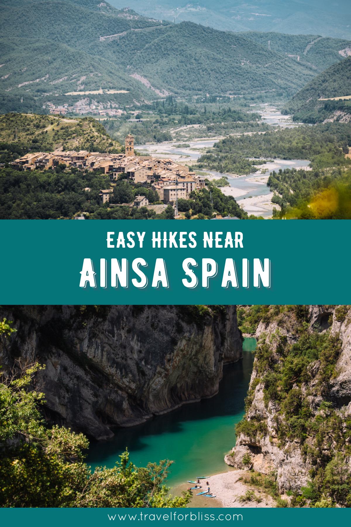 Easy Hikes Near Ainsa in Spain