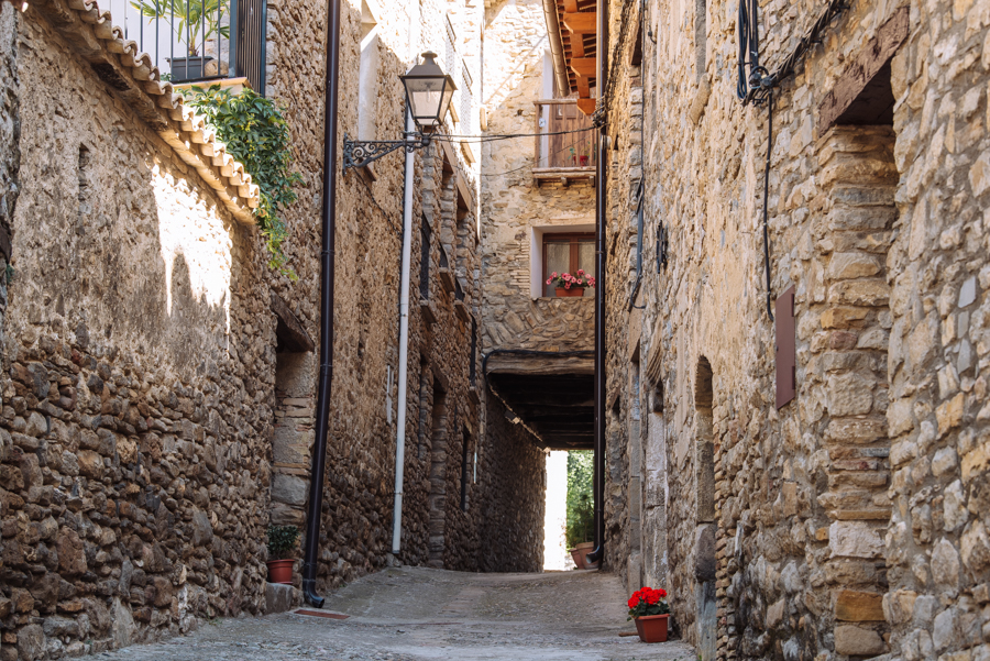 Roda de Isábena is one of the most beautiful villages in Spain