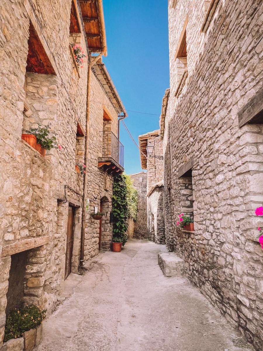Roda de Isabena is one of the prettiest towns in Spain