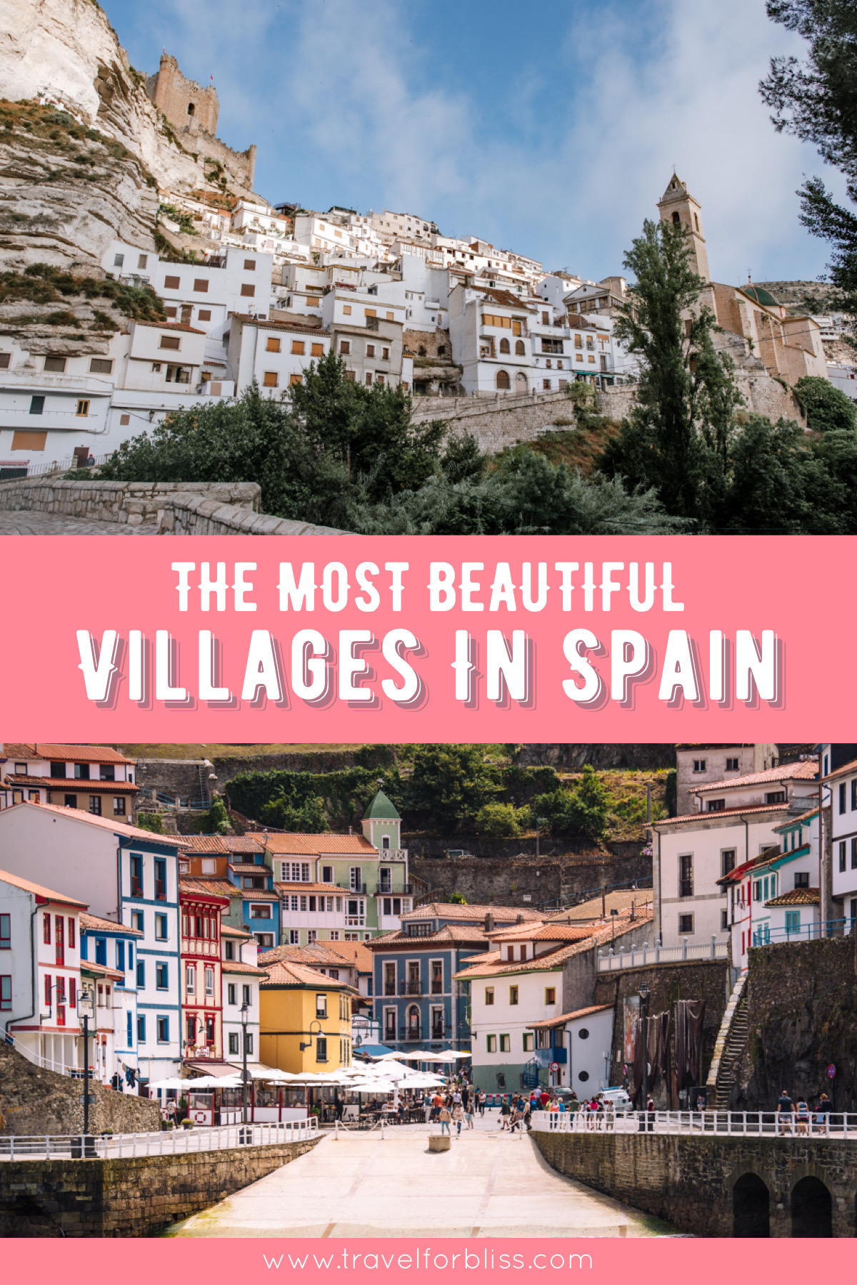 Travel Guide on the most beautiful villages in Spain.