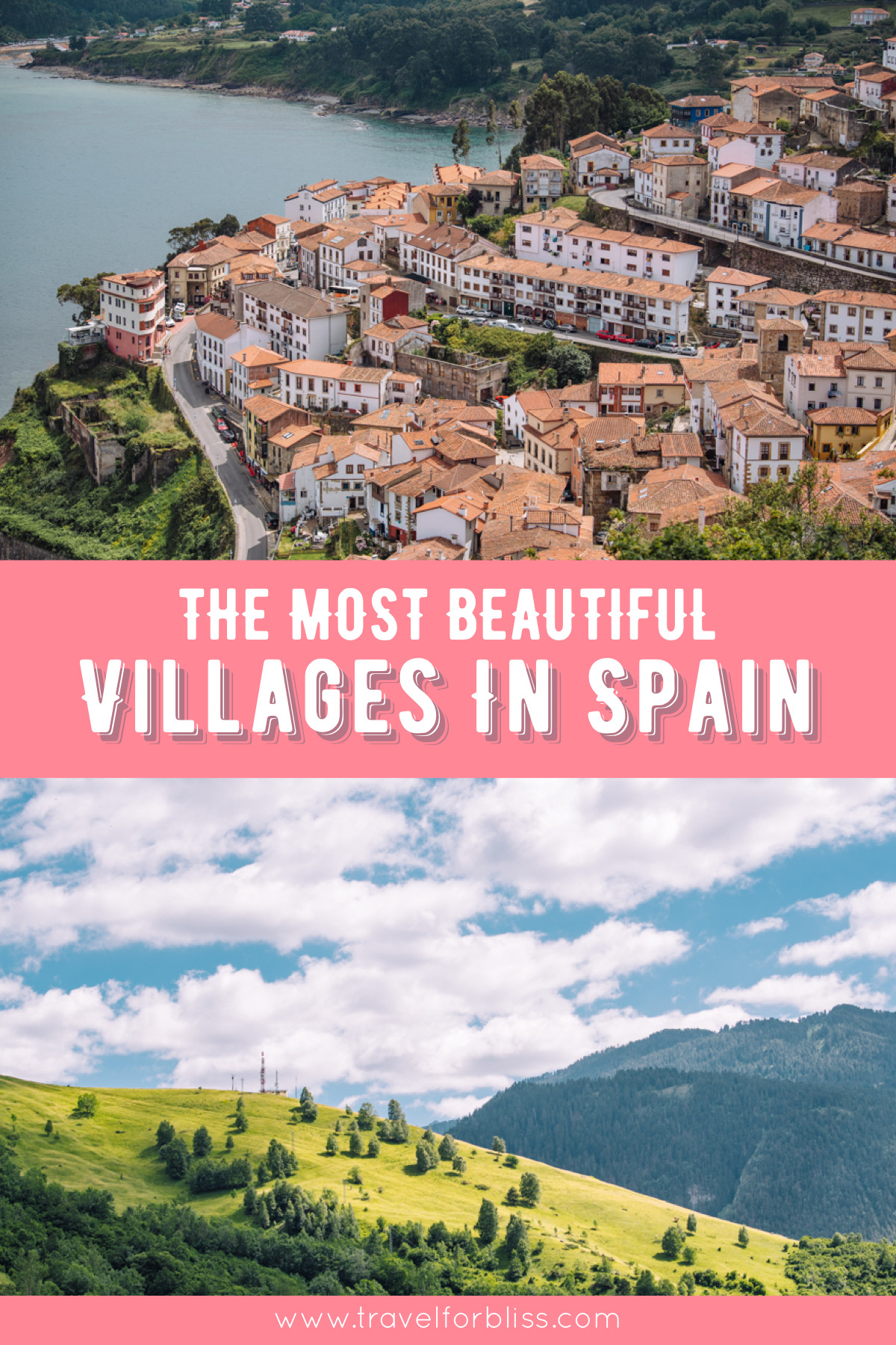 The most beautiful villages in Spain. Discover 8 of the best villages inn Spain.